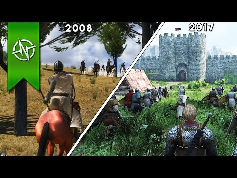 The Evolution Of Mount and Blade!   2008-2017  