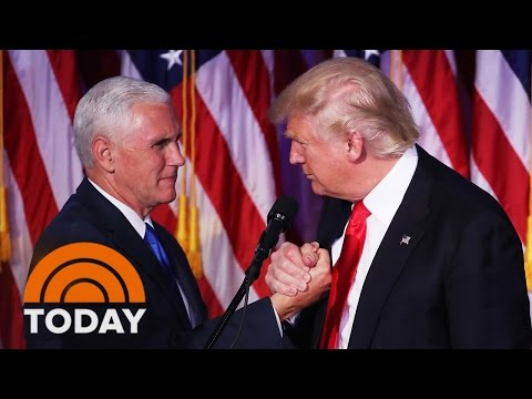 Donald Trump Says He'll Keep Parts Of Obamacare; Mike Pence Takes Over Transition Team | TODAY