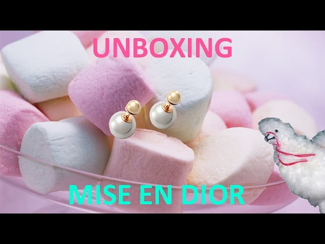 UNBOXING - Tribal Mise en Dior