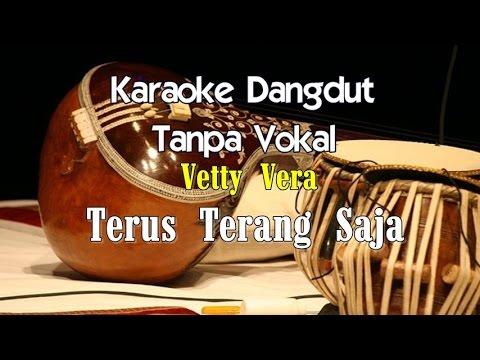 Karaoke Vetty Vera   Terus Terang Saja