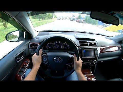 2013 Toyota Camry 2.5L (181) POV TEST DRIVE