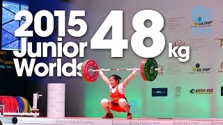 Best Lifts 48kg A 2015 Junior World Championships Wroclaw