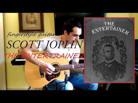 The Entertrainer - Scott Joplin - Fingerstyle Guitar Cover
