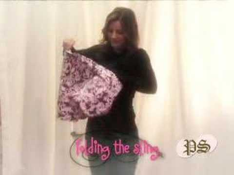 Baby Sling How To Wear Peanut Shell Youtube