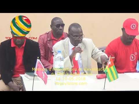 Togo/ Le PNP lance la remobilisation de ses militants pour la fin de la lutte