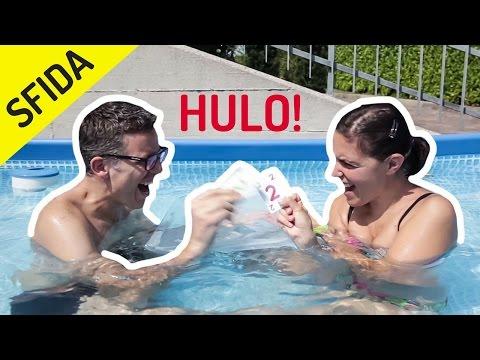 SFIDA IN PISCINA a HULO SPLASH: gioco di carte ACQUATICO