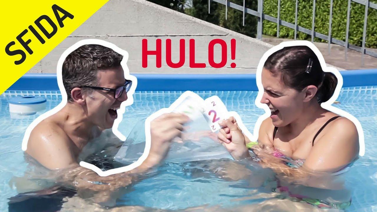 Sfida in piscina a hulo splash gioco di carte acquatico for Gioco di piscine
