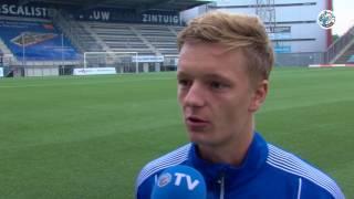 FC DEN BOSCH TV Introductie nieuwe spelers, Blummel en van Son