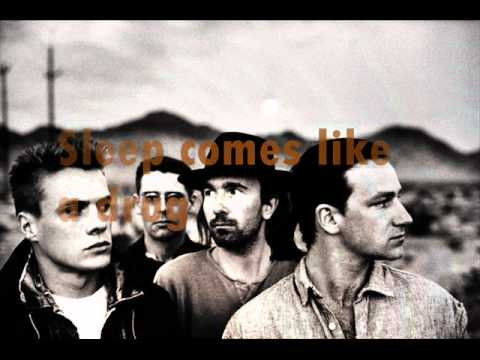 U2 In gods country + Lyrics