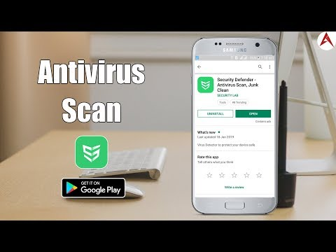 Protect your mobile security, Kill virus & clean junk files