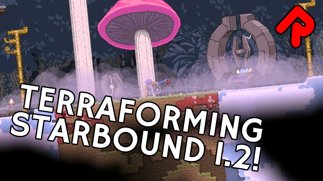 What's new in Starbound 1 2: Terraforming planets! | Starbound 1 2 preview