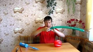 видео как сделать тюльпан из шдм