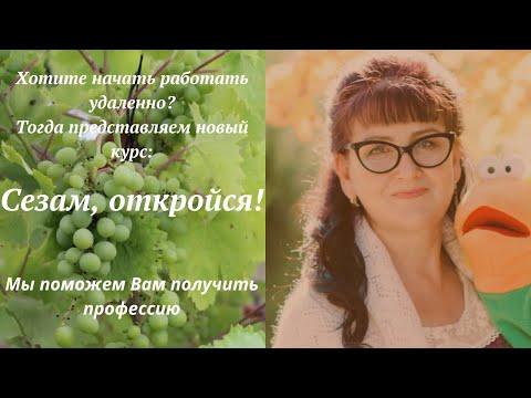 Заработать в интернете! Сезам откройся!   Новый курс Марины Марченко