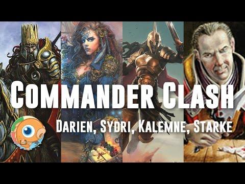 Commander Clash 3: Darien, Sydri, Kalemne and Starke