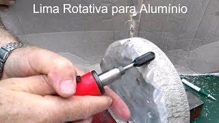 Gambar cover Lima Rotativa de Vidia Karnasch - Desbaste de Alumínio com Micro Retifica Pneumática