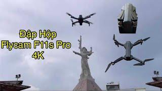 Đập Hộp Flycam F11s Pro 4k l Flycam Tốt Nhất Duới 4 Triệu l Huy U.F.O