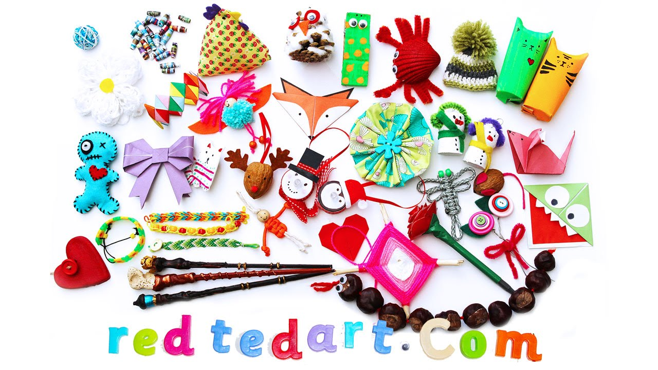 Great Craft Ideas Welcome To Red Ted Art Youtube