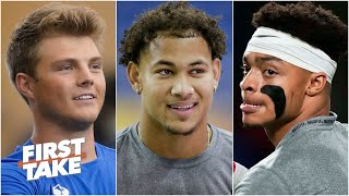 Zach Wilson, Trey Lance or Justin Fields: Which top QB has most to prove in the NFL?   First Take