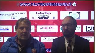 Interviste post partita Fratres Perignano - Castelfiorentino