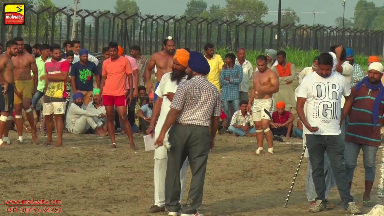 DAUKE (Tarn Taran Sahib) || KABADDI SHOW MATCH - 2016 || AMISHAH vs SULTANI SAHIB CLUB || Part 2nd