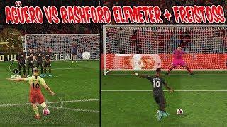 Die 10er Freistoß Challenge! AGÜERO vs. RASHFORD Freekick Challenge! - Fifa 20 Ultimate Team