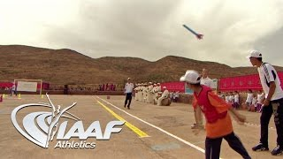 IAAF Kid's Athletics in Ait Iktel, Morocco 2014 - English Version