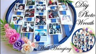 Best Photo Wreath    Handmade Photo Frame Wall Hanging    Beautiful Home Deco screenshot 4