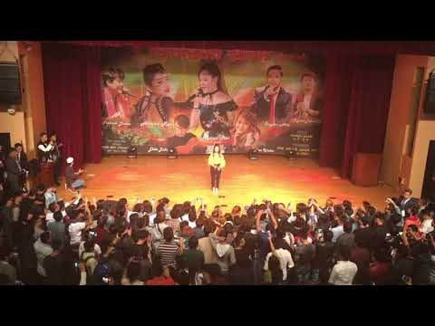 Timle bato fereu are by Melina Rai live in korea