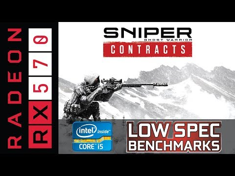 Sniper Ghost Warrior Contracts on RX 570 | i5-3570K Benchmark and some gameplay |