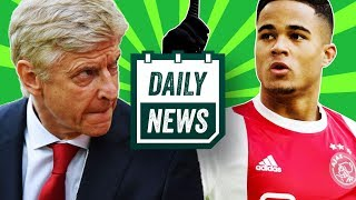 TRANSFER NEWS: Kluivert and Pulisic to Premier League .+ Arsenal FAIL Arsene Wenger in Europa League