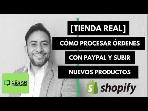 [Tienda Real] Cómo Procesar Una Orden Pagada En Shopify Y Editar Producto A Detalle.