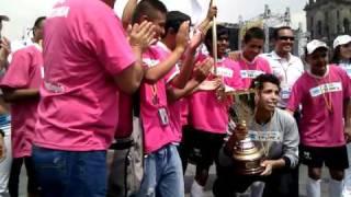 Chihuahua recibe trofeo de campeón del torneo