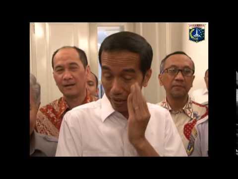14 Agsts 2014 Gub Jokowi Penandatanganan MoU dengan Kementerian Perhubungan