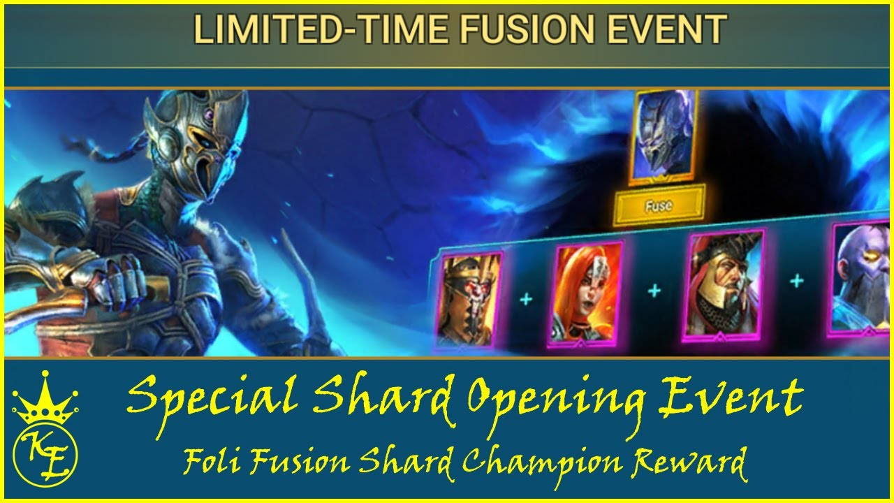 Raid Shadow Legends - Shard Opening Fusion Event - Episode 6