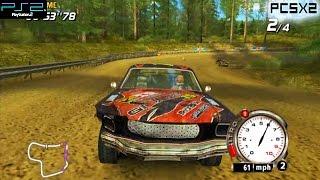 Flatout - PS2 Gameplay 1080p (PCSX2)