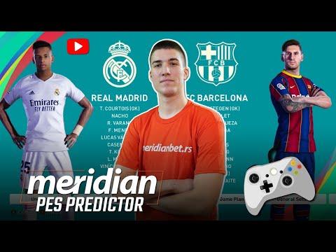REAL MADRID vs BARCELONA | Meridian PES Predictor #49 | @Beki