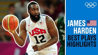 James Harden ?BEST plays from London 2012!