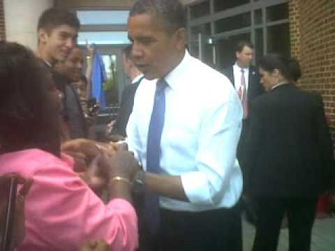 ohio state meet president obama