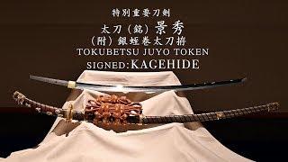 日本刀の美 特別展示会へゆく