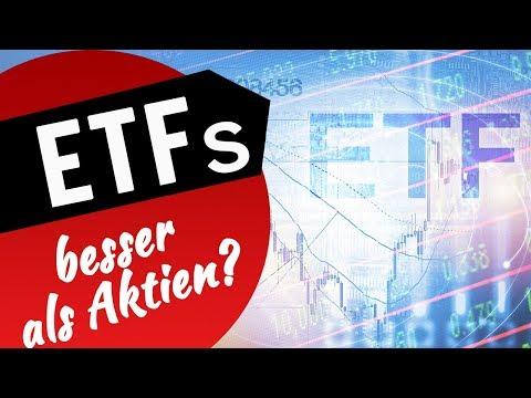 ETFs besser als Aktien?