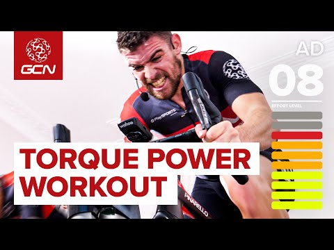 40 Minute Aerobic Intervals: Sufferfest's 'Torque Monster' | Indoor Cycling Workout