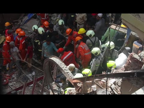 AFP news agency: At least four dead in Mumbai building collapse | AFP