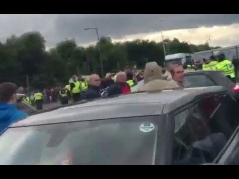 Middlesbrough - Sheffield United Clash after the game