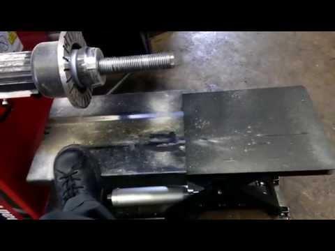 New Hunter Engineering wheel lift for balancers