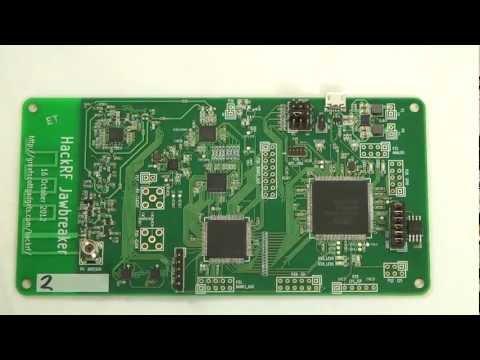 Low Cost Open Source Wireless Hacking - HackRF Jawbreaker   The