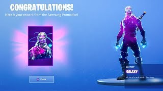 IT WORKED! i Unlocked the Galaxy Skin in Fortnite for $20!