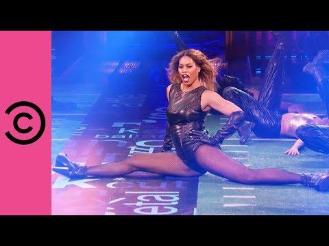 Laverne Cox Slays As Beyonce   Lip Sync Battle
