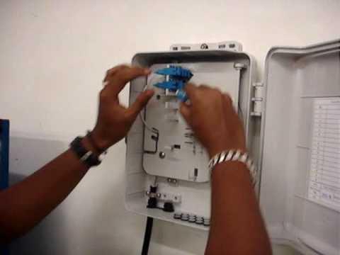 Menara Telekom Malaysia Fiber Optic Cable Installation By