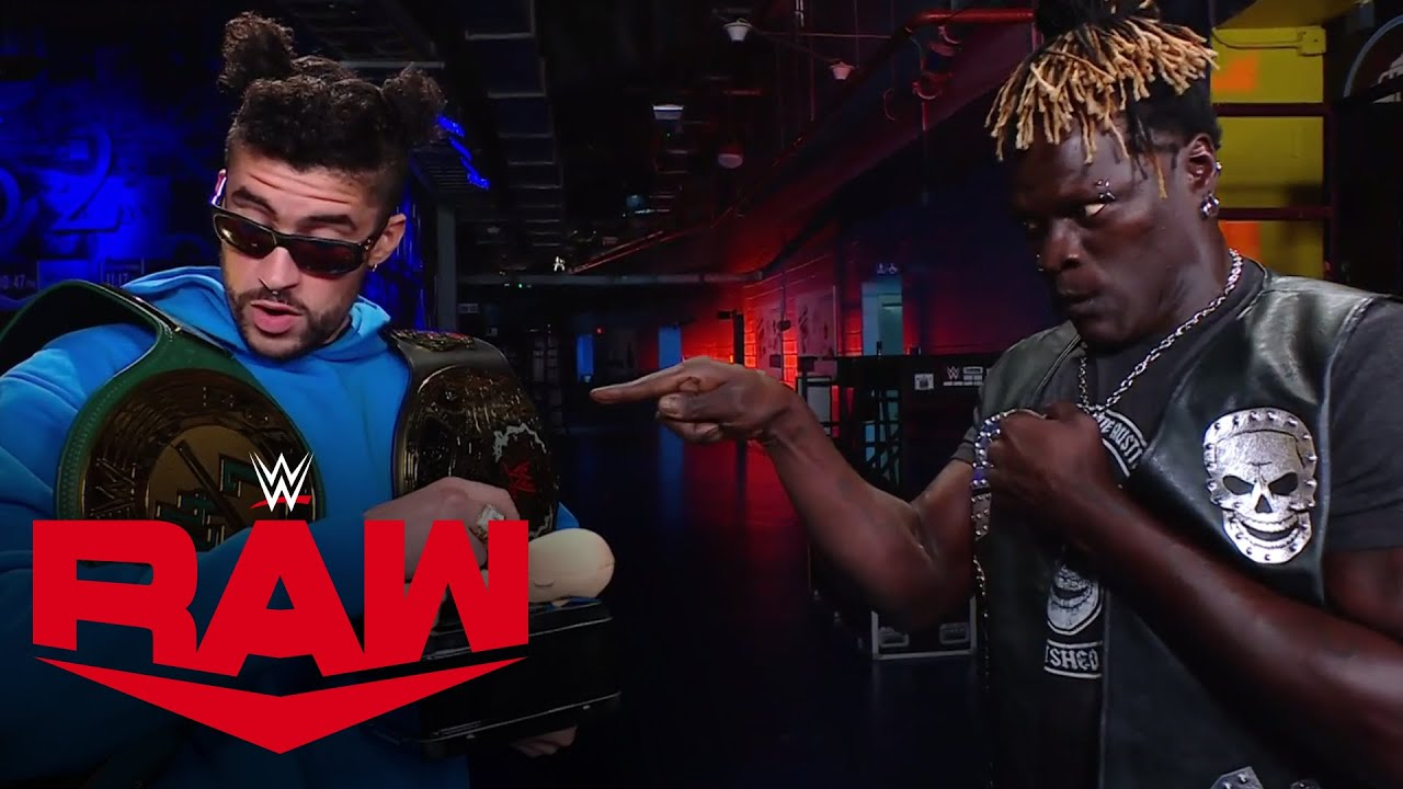 Bad Bunny Hands Over The WWE 24/7 Title
