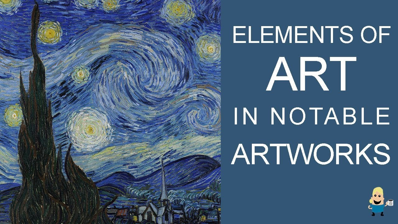 Elements Of Visual Arts : Elements of art in famous artworks youtube